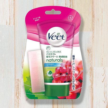 ヴィート(Veet)バスタイム除毛クリームの効果は?種類や使い方を解説のイメージ